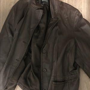 Jackets & Blazers - Chocolate sleek jacket